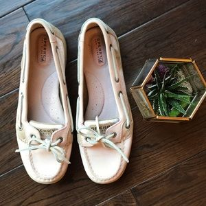 Sperry Top-sider blush color EUC size 8M